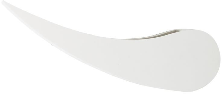 Lampex Victor 699/1 BIA kinkiet lampa ścienna klosz półkolisty gips G9 1x40W 30cm