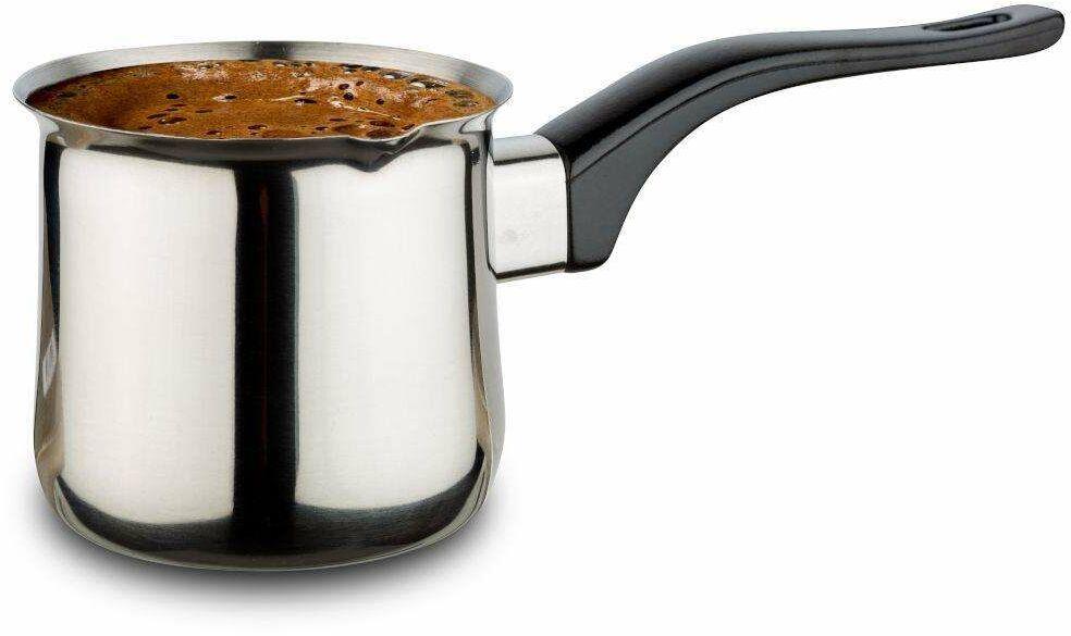 Tygielek stalowy do parzenia zaparzania kawy tureckiej po turecku 340 ml