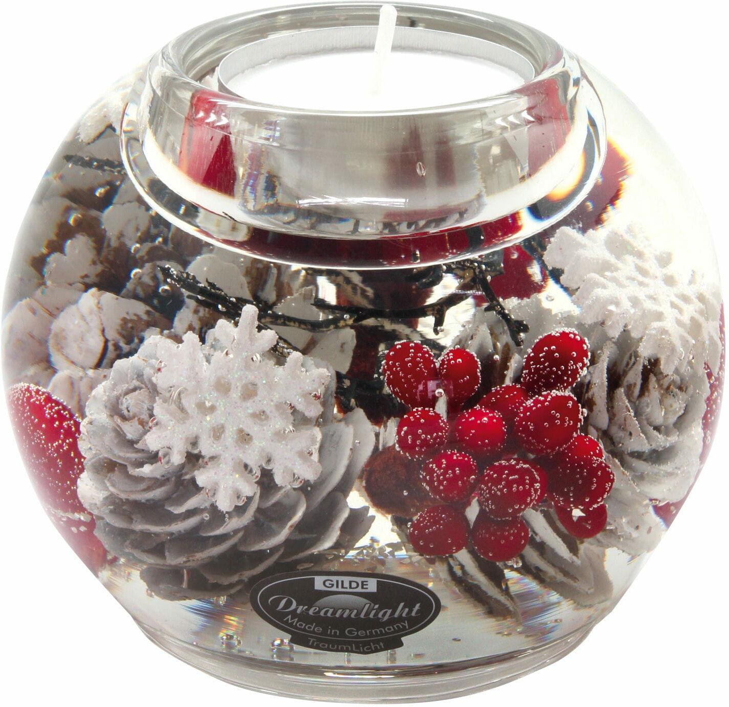 Dreamlight, świecznik na t-light Mercur Winter Berries