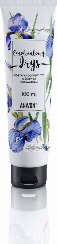 ANWEN - Emolientowy Irys - Odżywka do włosów o średniej porowatości - 100 ml