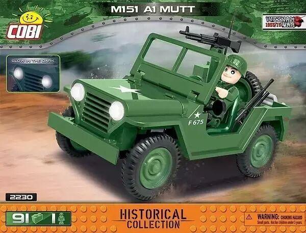 HC Vietnam War M151 A1 Mutt - Cobi