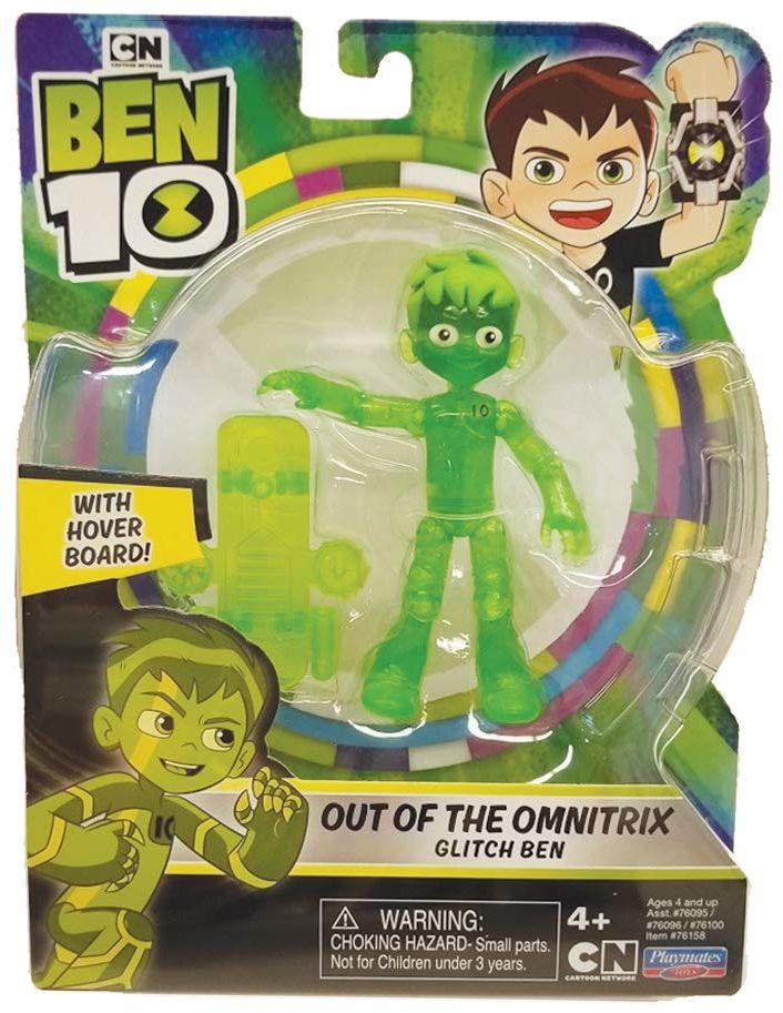 Ben 10 BEN47310 figurka akcji półprzezroczysta (Out of Omnitrix)
