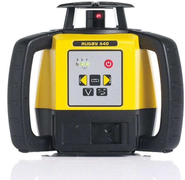 Niwelator laserowy Leica RUGBY 640, RE Basic, Alkaline