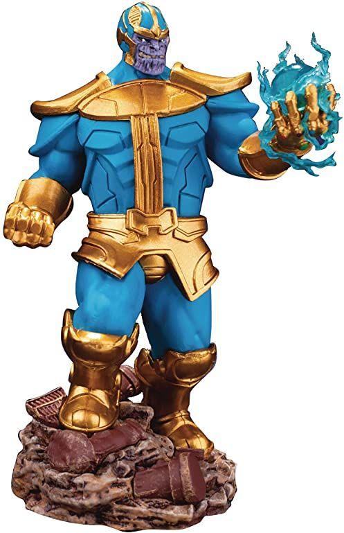 Beast Kingdom - Diorama Marvel figurka Thanos, wielokolorowa (DS-014SP)