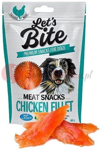 Brit Care Let''s Bite Dog Meat Snacks Chicken Fillet