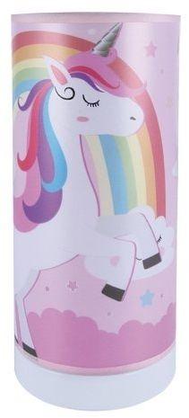 Lampka nocna stojąca unicorn jednorożec mila led 3w gros 3000k