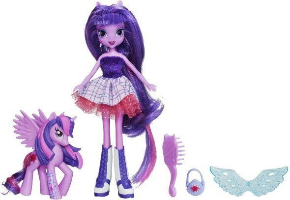 Hasbro My Little Pony Equestria Girls Lalka z Kucykiem Twilight Sparkle A3996 A5102