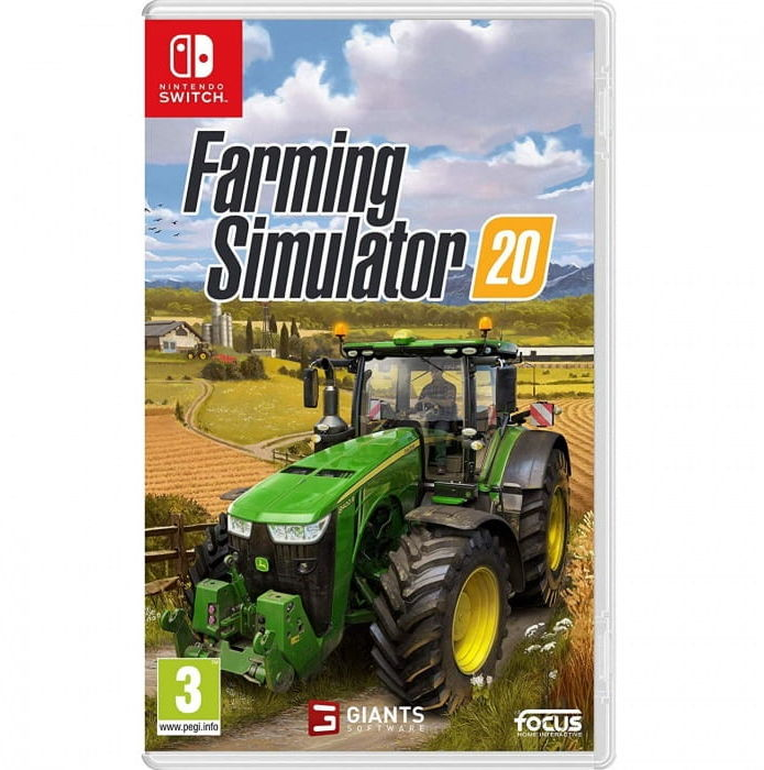 Gra Farming Simulator 20 (Nintendo Switch)