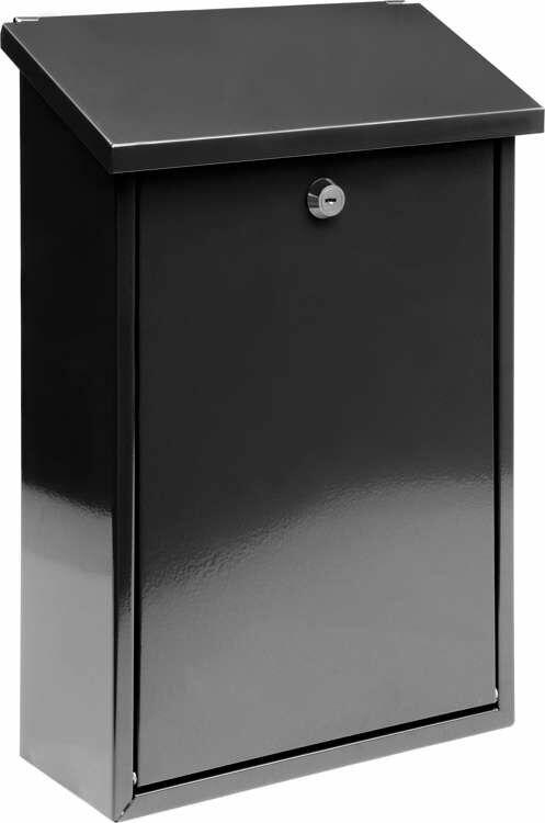 Skrzynka na listy 400x250x100mm - Czarna Vorel 78570 - ZYSKAJ RABAT 30 ZŁ