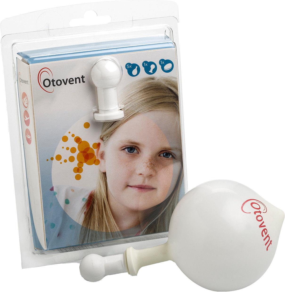 Otovent zestaw do wyrównywania ujemnego ciśnienia w uchu środkowym
