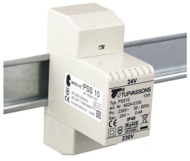 Transformator 1-fazowy modułowy PSS 10VA 230/11,5V 16009-0066