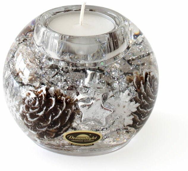 Dreamlight, świecznik na t-light Mercur Winter Story