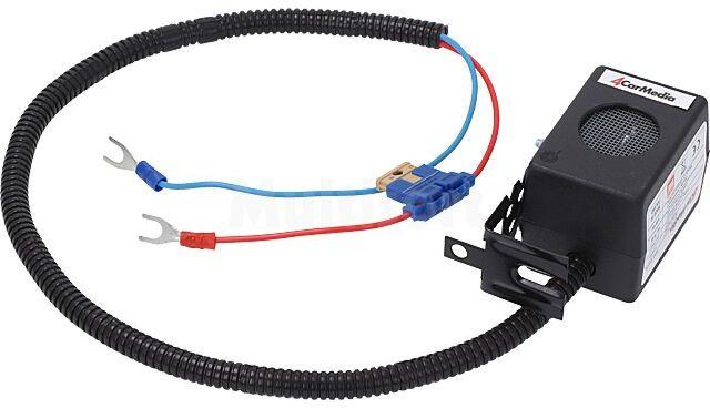 Odstraszacz gryzoni do aut osobowych 12VDC 14-39kHz 2 głośniki kabel 70cm