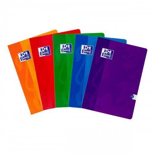 Brulion OXFORD SCHOOL ESSE A4 / 96 kartek linia, okładka laminowana 400026717
