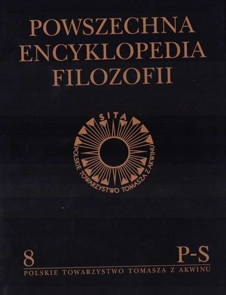 Powszechna Encyklopedia Filozofii t.8 P-S - praca zbiorowa