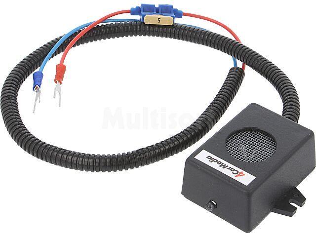 Odstraszacz gryzoni do aut osobowych 12VDC 14-39kHz 1 głośnik kabel 70cm