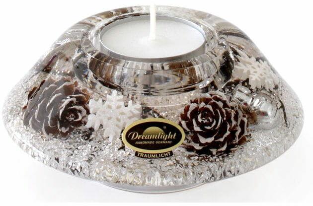 Dreamlight, świecznik na t-Light Crown Classic Winter Story