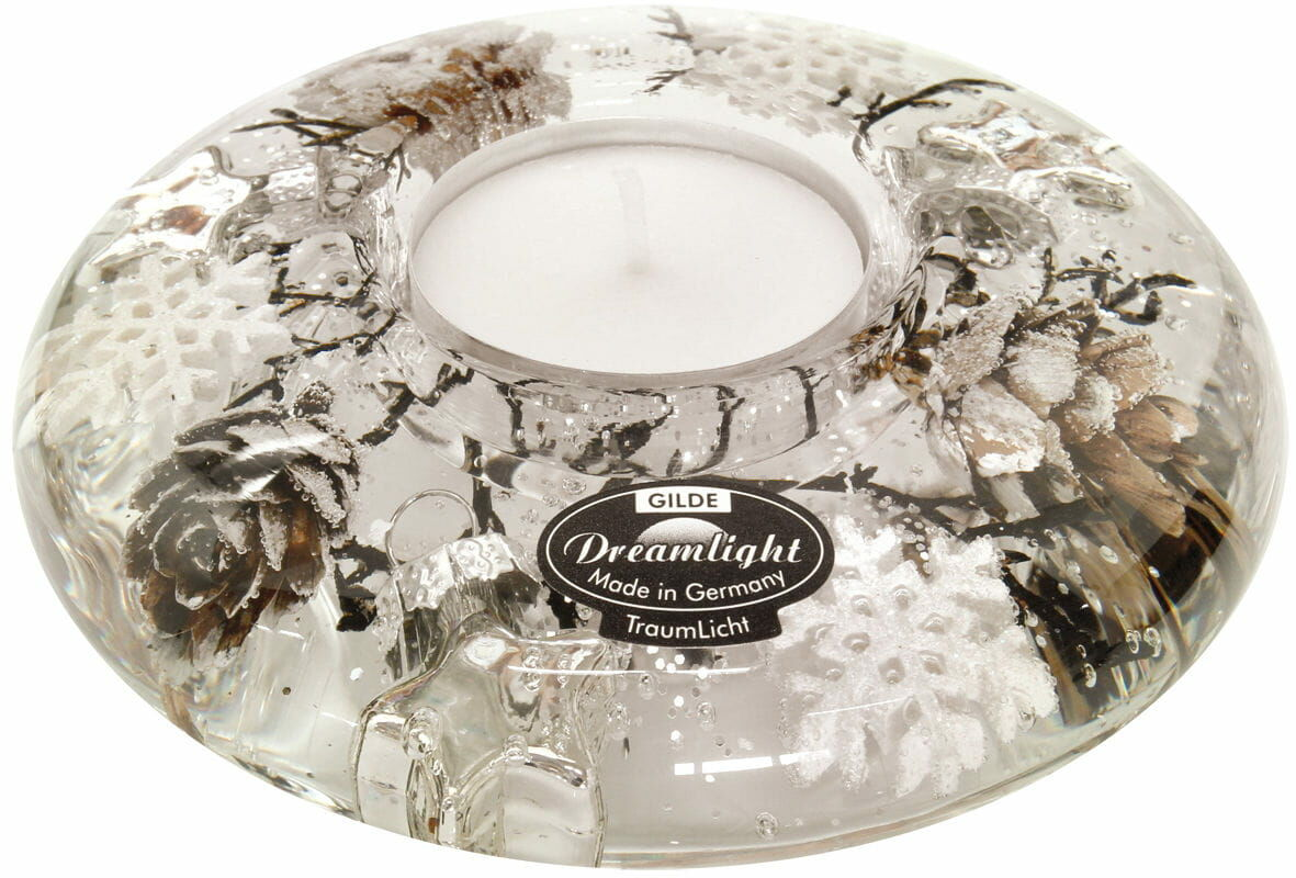 Dreamlight, świecznik na t-light Ufo Mini Winter Story 11cm H4cm