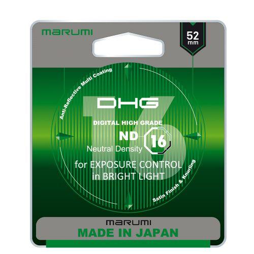 MARUMI DHG ND16 Filtr fotograficzny szary 52mm