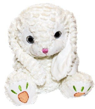 Maskotka Króliczek Łukaszek biały 33 cm