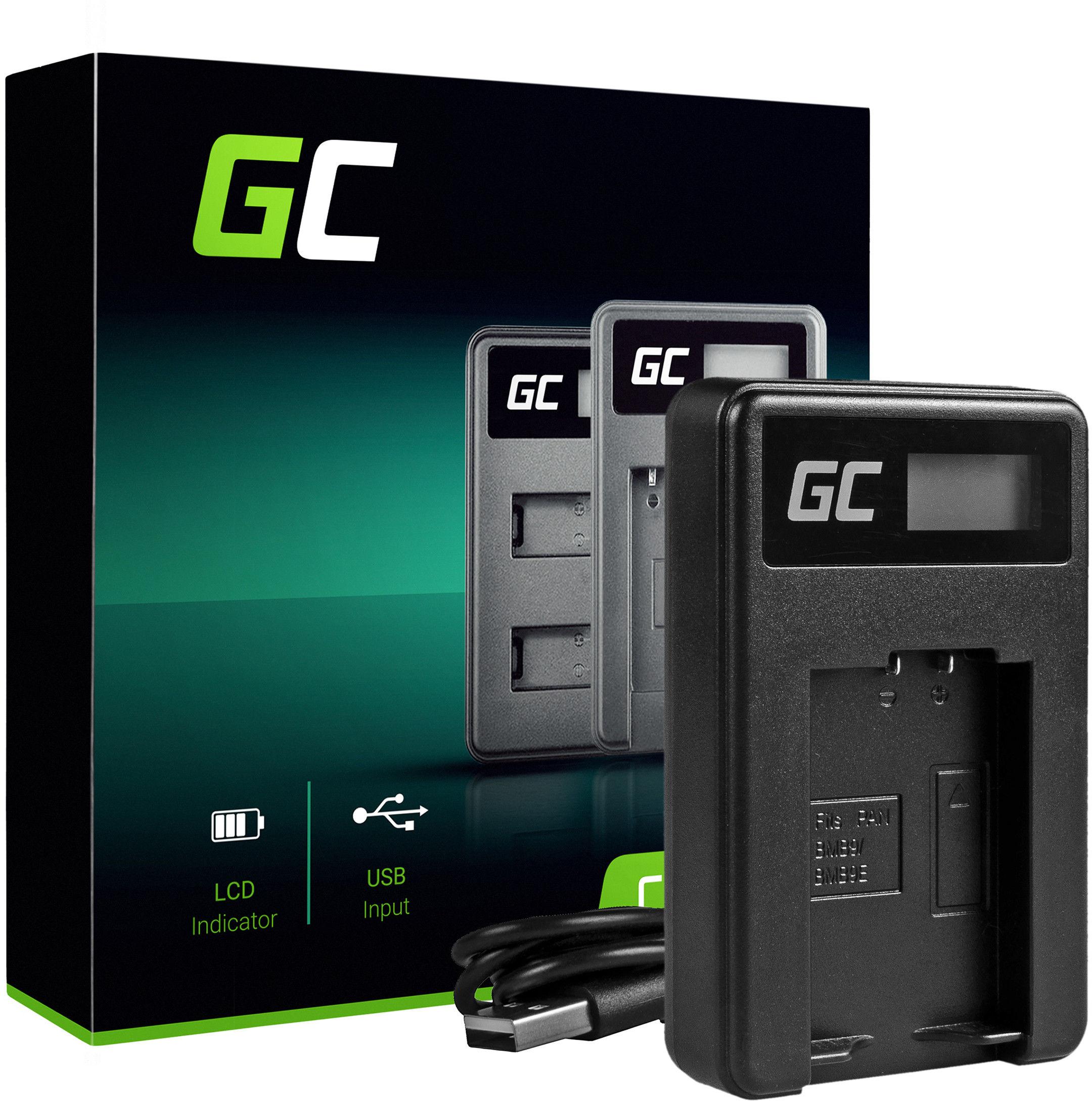 Ładowarka DE-A83, DE-A84 Green Cell  do Panasonic Lumix DC DMC FZ40 FZ47 FZ60 FZ70 FZ80 FZ100 FZ150 Leica V-LUX (8.4 5W 0.6A)