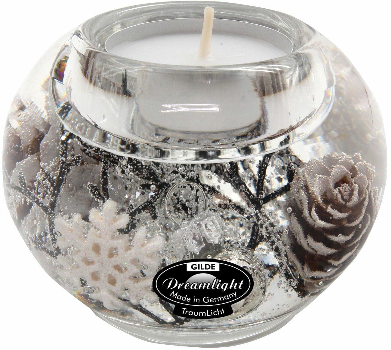 Dreamlight, świecznik na t-light Mercur Smart Winter Story 8cm H6cm