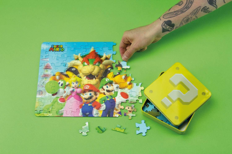 Puzzle - Super Mario