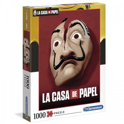Puzzle 1000 La Casa de Papel - Dom z papieru - Maska