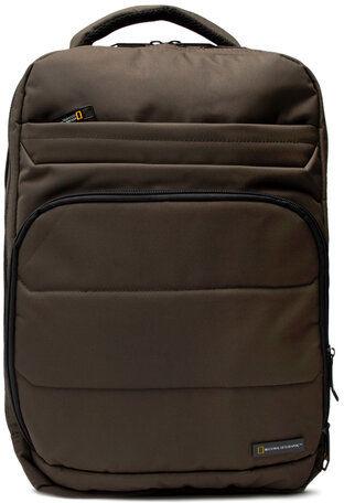 Plecak Backpack 3 Compartments N00710.11 Zielony