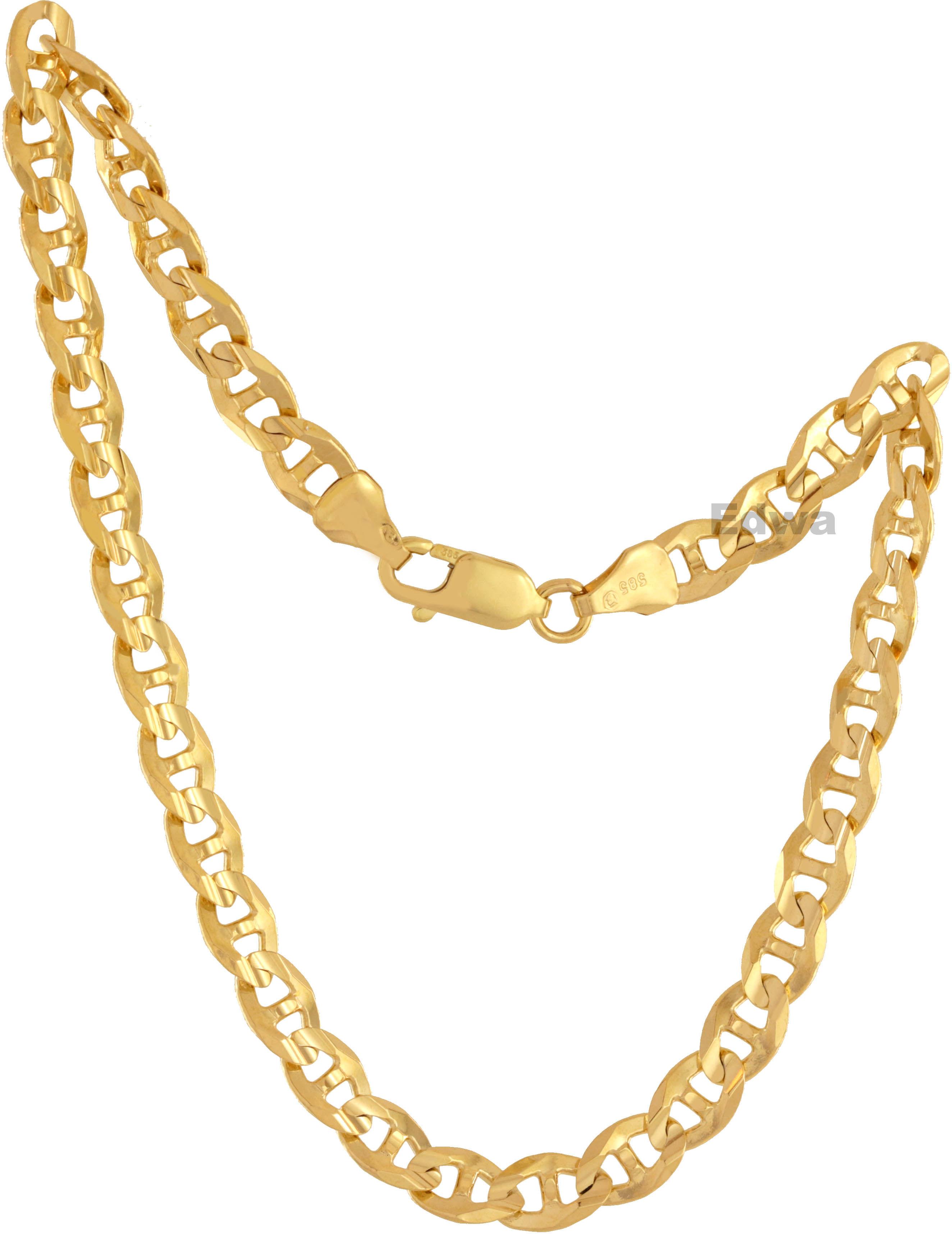 Bransoletka złota wzór Gucci, pełne złoto pr.585. 23 cm