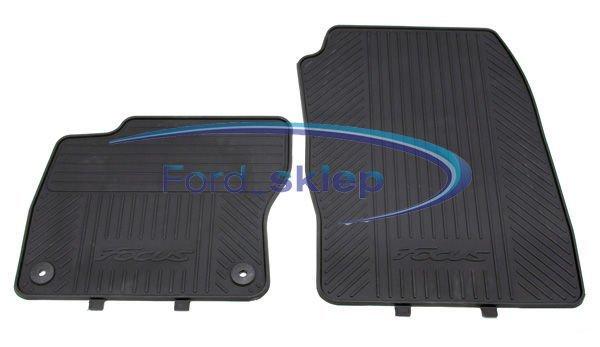 wykładziny dywaniki podłogi gumowe Ford Focus MK3 - 2027601