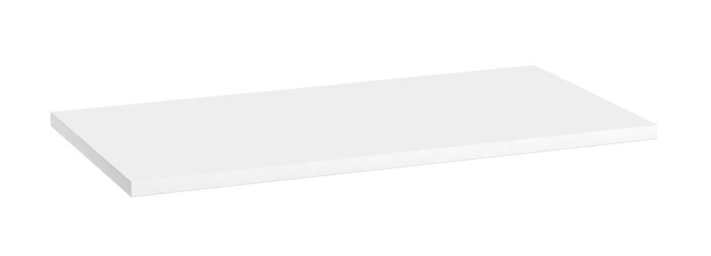 Oristo blat uniwersalny 80x1,6x46cm biały połysk OR00-BU-80-1