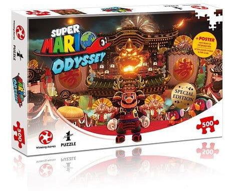 Puzzle - Super Mario Odyssey - Bowser''s Castle