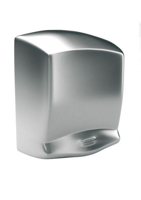 Elektryczna suszarka do rąk Optima - obudowa metalowa, stal matowa