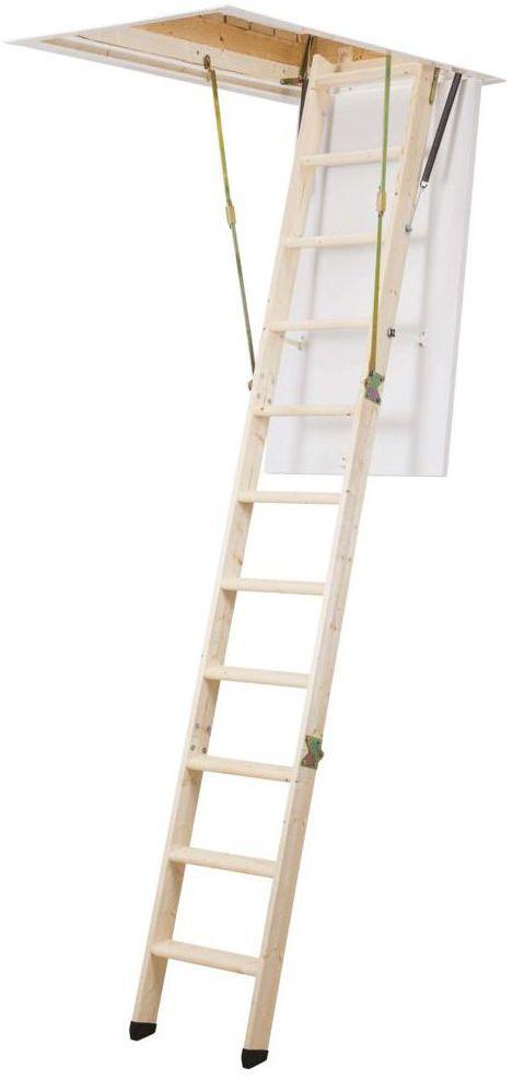 Schody strychowe CLICKFIX  36 GOLD 120 x 60 cm Dolle