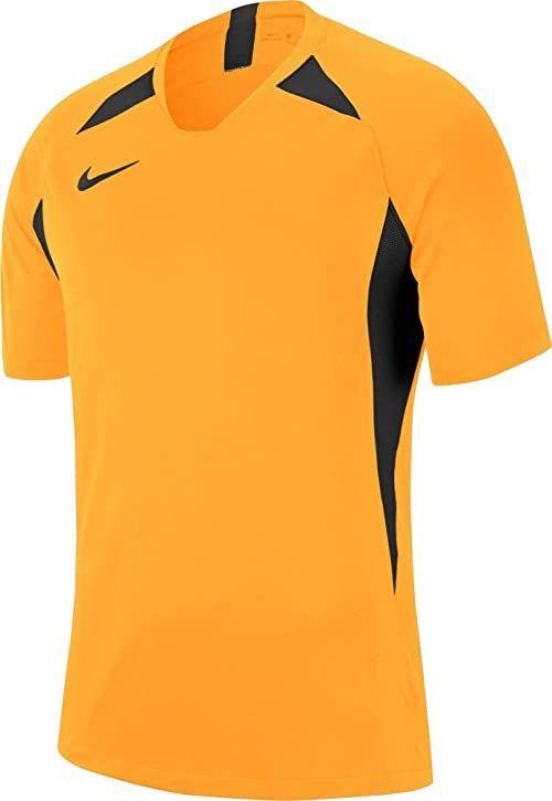 Nike Chłopięcy Y Nk Dry Legend Jsy Ss T-shirt Uniwersytet złoty/czarny/czarny/(czarny) S