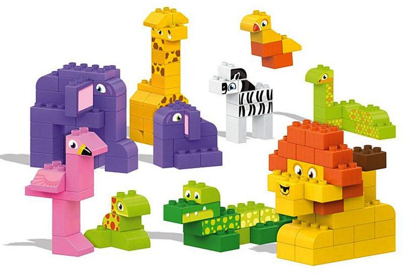 Mega Bloks - Przyjaciele z safari DWR76
