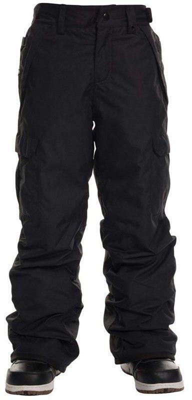 spodnie 686 - Infinity Cargo Insl Pant Black (BLK)