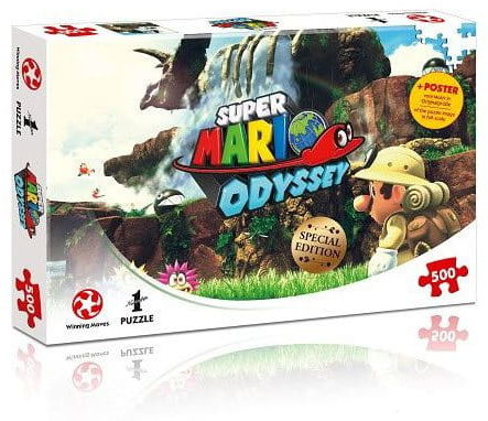 Puzzle - Super Mario Odyssey - Fossil Falls