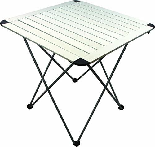 Highlander Aluminiowy łatwy składany stół - naturalne wykończenie
