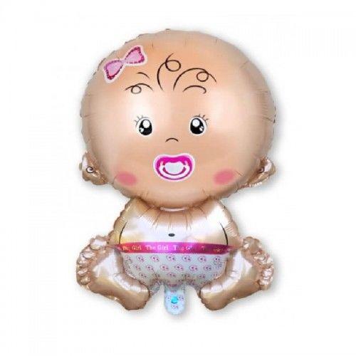 Balon foliowy Bobas, dziewczynka