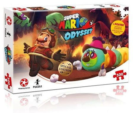 Puzzle - Super Mario Odyssey - Forgotten Isle