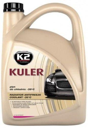 K2 Kuler -35 C różowy 5 L gotowy płyn do chłodnic