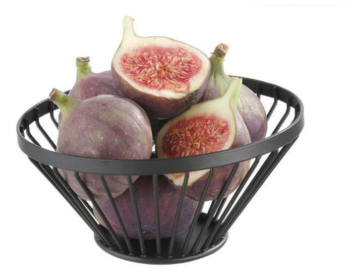 Koszyczek na owoce czarny