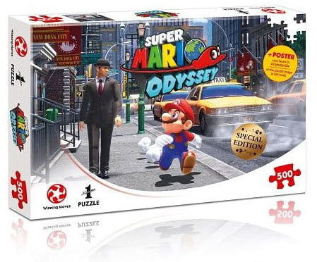 Puzzle - Super Mario Odyssey - New Donk City