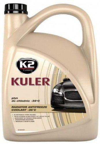 K2 Kuler -35st.C płyn do chłodnicy bezbarwny 5l