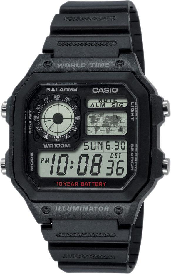 Zegarek Casio AE-1200WH-1AVEF - CENA DO NEGOCJACJI - DOSTAWA DHL GRATIS, KUPUJ BEZ RYZYKA - 100 dni na zwrot, możliwość wygrawerowania dowolnego tekstu.