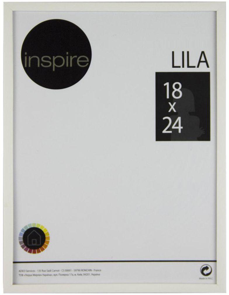 Ramka na zdjęcia Lila 18 x 24 cm biała Inspire