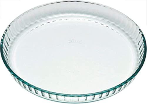 Pyrex Bake & Enjoy szklana naczynie z flaneli wysoka odporność 28 x 28 cm, 1,4 l