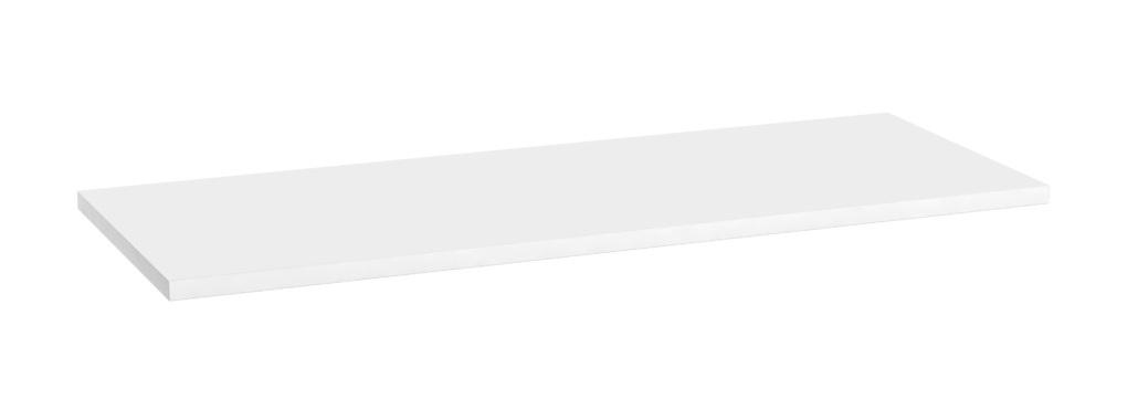 Oristo blat uniwersalny 120x1,6x46cm biały połysk OR00-BU-120-1